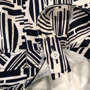 Trina Turk Dresses - Trina Turk Dress, Blue and White, Size 6